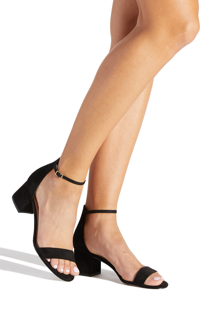 cd70356d74fa Material  FAUX-SUEDE  Fit  TRUE TO SIZE  Color  BLACK  Outside Heel Height   2.25