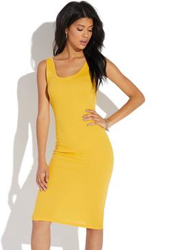 Midi Length Bodycon Dresses