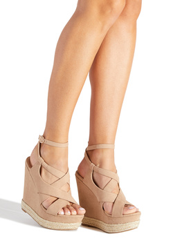 CARMELLA STRAPPY ESPADRILLE WEDGE