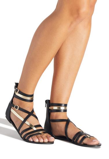 9d5ebb8c8 COLBY STRAPPY FLAT SANDAL - ShoeDazzle