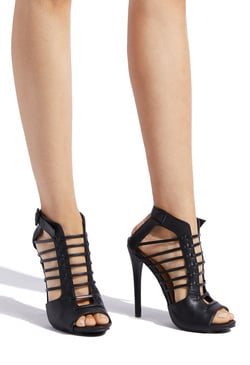 CADANCE CAGED STILETTO HEEL