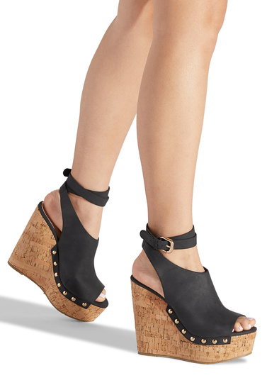 f013ef4404 Color: BLACK; Outside Wedge Height: 5