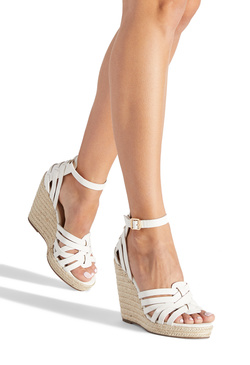 AMELIE STRAPPY ESPADRILLE WEDGE
