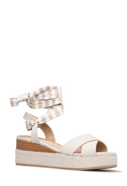 ARIEL LACE UP WEDGE