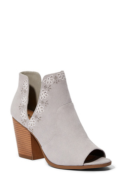 19411460314 Women's Grey Block Heeled Sandals, Size 9 - 75% Off Your First Item ...