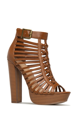 TANYA CAGED HEELED SANDAL