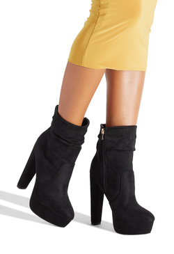 EAST SIDE SLOUCHY PLATFORM BOOTIE