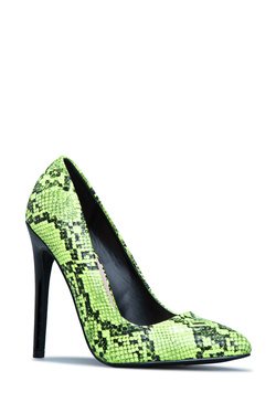 PRETTY MESS PUMP POINTED TOE PUMP