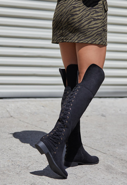 BRIENNE LACE UP BOOT