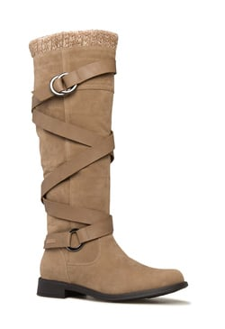 DEBORA BUCKLE STRAP BOOT