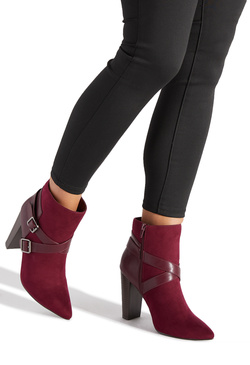 ELLIS WRAPAROUND BUCKLE BOOTIE