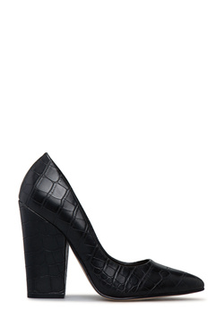 HILARY BLOCK HEEL PUMP