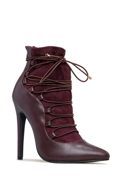 BEV LACE UP BOOTIE