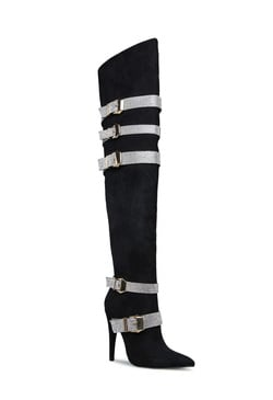 APOLLONIA EMBELLISHED STILETTO BOOT
