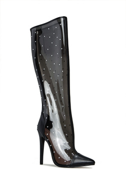CRISTAL VISION SEXY PVC BOOT