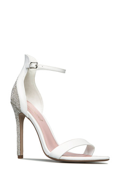 SAINT LIKE EMBELLISHED HEELED SANDAL