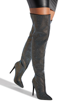 CHARMED OVER THE KNEE BOOT