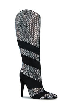NOMI RHINESTONE STILETTO BOOT