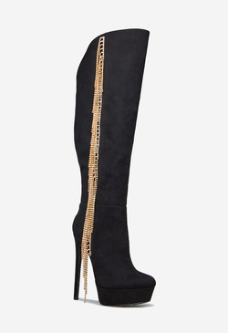 CHA-CHING CHAIN FRINGE BOOT