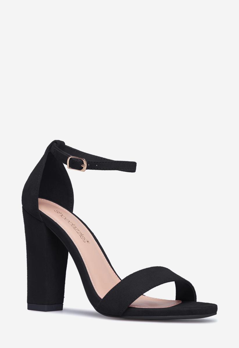 ELLE BASIC HEELED SANDAL - ShoeDazzle