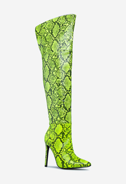ICONIC GRAPHIC STILETTO BOOT
