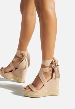 CHERMONA ANKLE TIE WEDGE